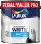 Dulux Matt Pure Brilliant White 3 Litres 5092364
