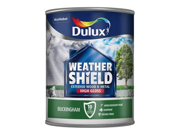 Dulux Weathershield Exterior Gloss Buckingham 750ml 5090986
