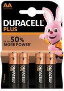 Duracell Plus - AA Batteries - Pack of 4