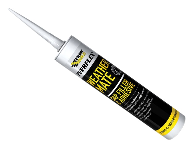 Everbuild Weather Mate Sealant Black 295ml