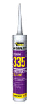 Everbuild Everflex Premium 335 Construction Silicone Brown 295ml