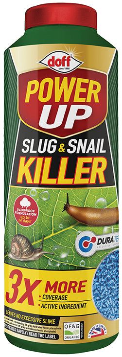 Doff Power Up Slug & Snail Killer 650g