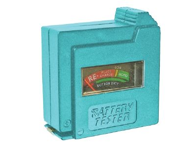 Faithfull BT1 Battery Tester for AA, AAA, C, D & 9V