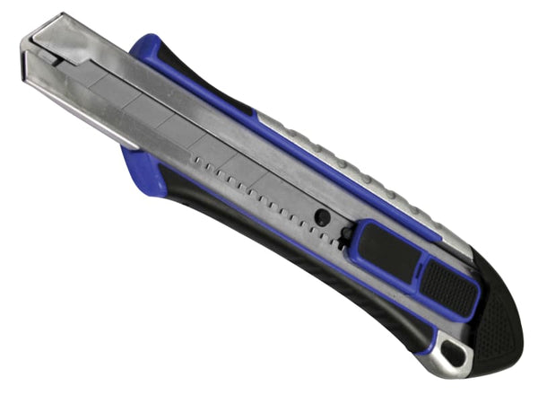 Faithfull Heavy-Duty Retractable Snap-Off Trimming Knife 25mm