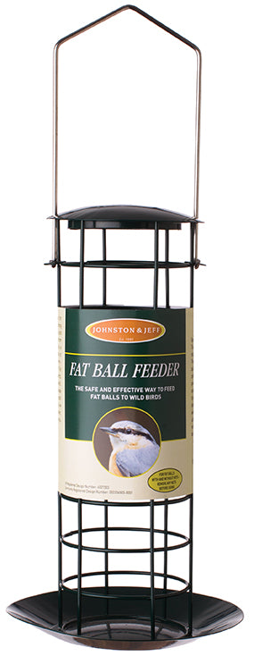 Johnsons and Jeff FO08 Fat Ball Feeder with Tray