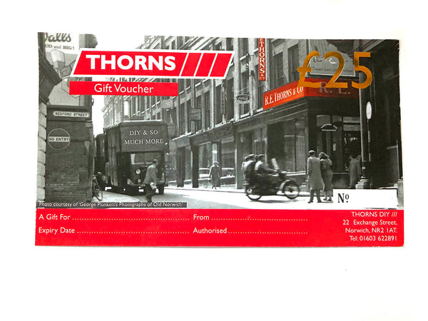Thorns Gift Voucher £25