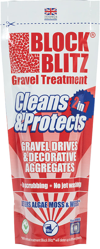 Block Blitz Gravel Cleaner & Treatment SAG02