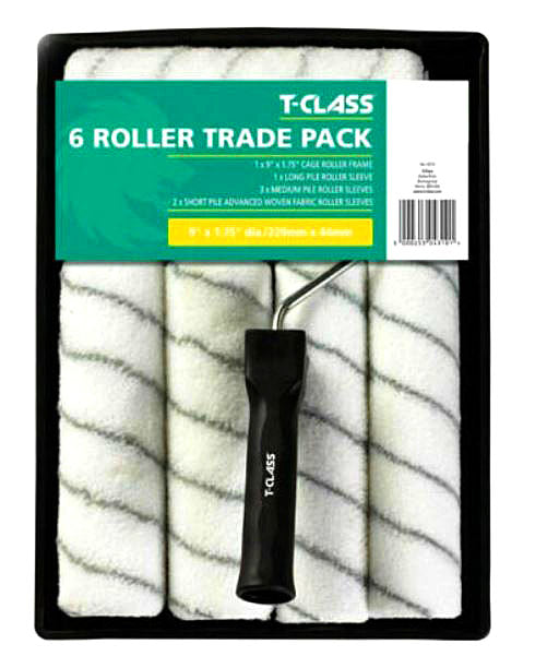 Harris T-Class Contractor 6 Roller Trade Pack 4310