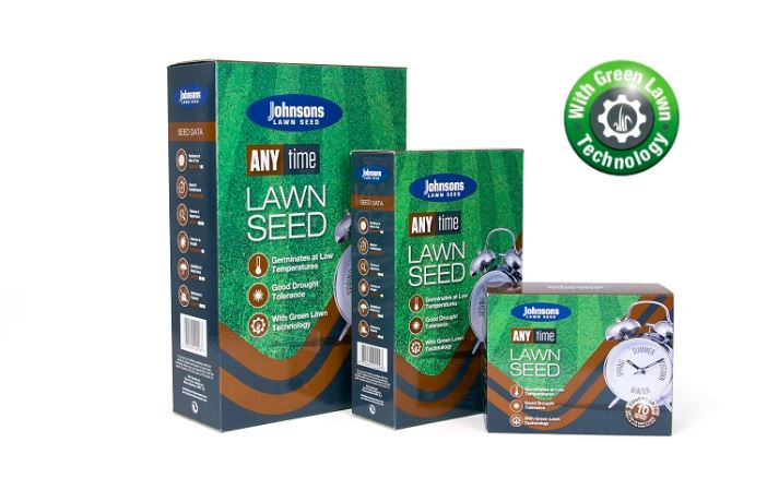 Johnsons Anytime Lawn Seed 250gm