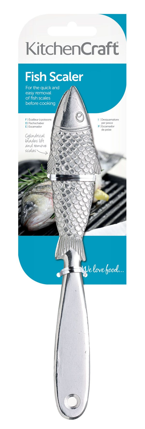 KitchenCraft Fish Scaler