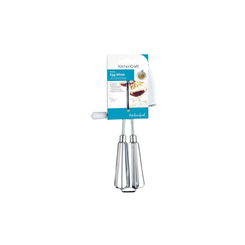 KitchenCraft Side Handled Rotary Whisk