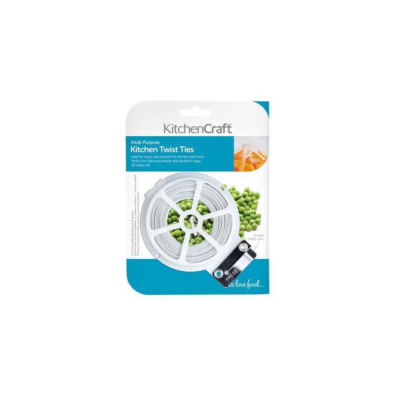 KitchenCraft Twist and Tie Dispenser and Cutter
