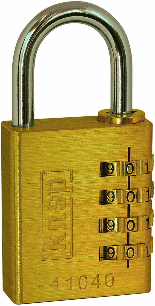 Kasp 110 Brass Combination Padlock 40mm K11040D