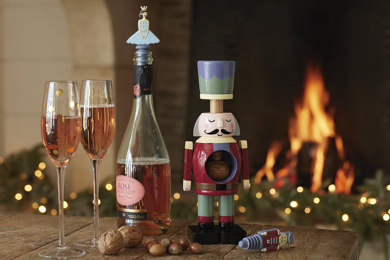 KitchenCraft The Nutcracker Collection Silicone Bottle Stoppers