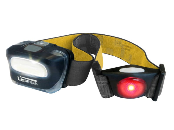 Lighthouse Front & Rear LED Headlight 120 Lumens