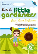 Johnsons Little Gardeners Sunny Giant Sunflowers - Giant Single