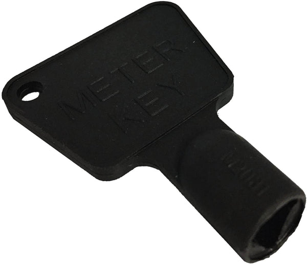 Triangular Gas Electric Utility Meter Box Key