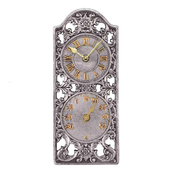 Outside In Designs Westminster Wall Clock & Thermometer 5065000