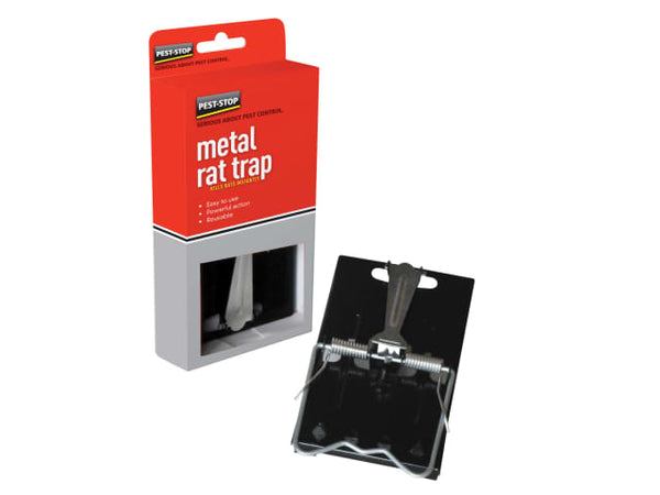 Pest Stop PSESRT Easy Setting Metal Rat Trap