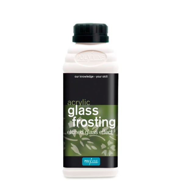 Polyvine Acrylic Glass Frosting - Etched Glass Effect 500ml