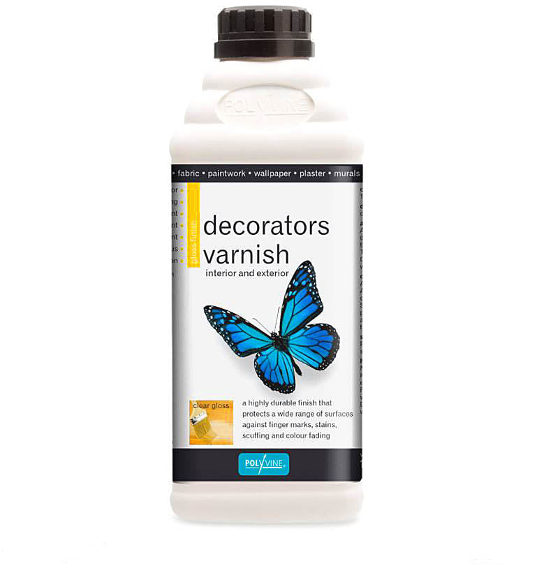 Polyvine Decorators Varnish Gloss Finish 1 Litre