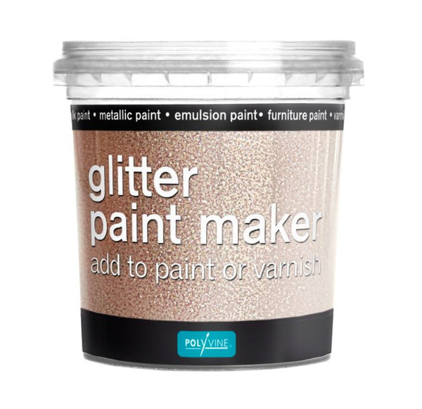 Polyvine Glitter Paint Maker Rainbow Glitter 75ml