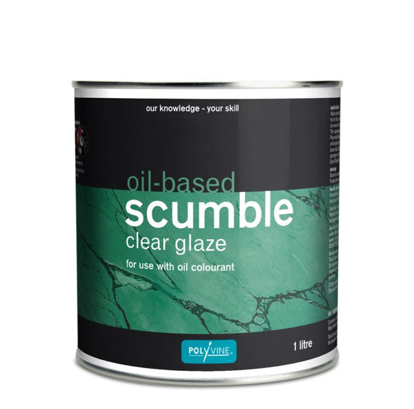Polyvine Oil-based Scumble Clear Glaze 500ml