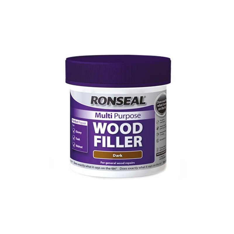 Ronseal Multi Purpose Wood Filler Tub Dark 250g
