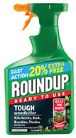 RoundUp Tough 1L  Ready to Use + 20% Free
