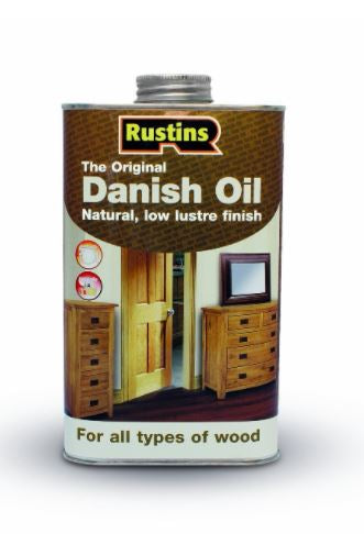 Rustins Original Danish Oil 1 Litre