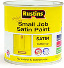 Rustins Quick Dry Small Job Satin Buttercup 250ml