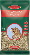 Johnsons and Jeff SH12 Sunflower Hearts 12.75 KG