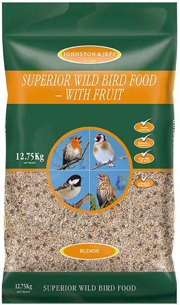 Johnsons and Jeff SW12 Superior Wild Bird Food Mix 12.75 KG NORFOLK DELIVERY ONLY