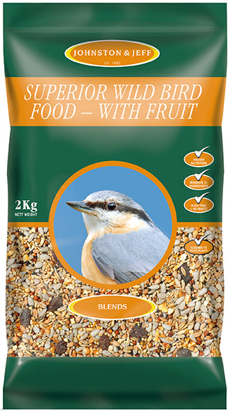 Johnsons and Jeff SW2 Superior Wild Bird Food Mix 2 KG
