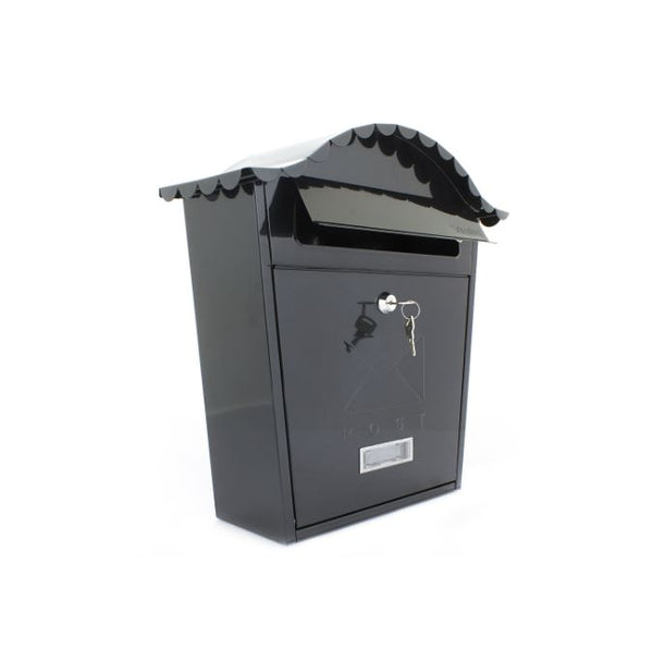 Sterling Classic Post Box - Black  MB01BK