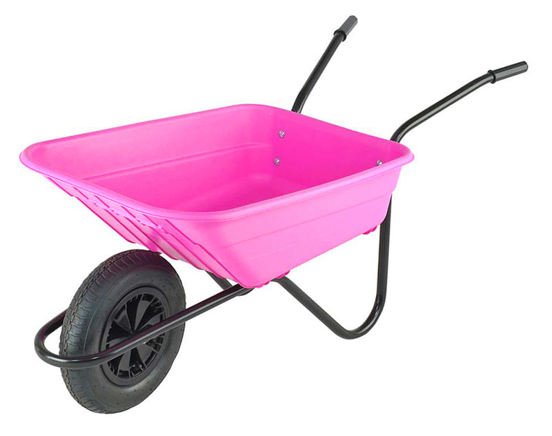 The Walsall Wheelbarrow Company The Shire Pink 90 Litre NORFOLK DELIVERY ONLY