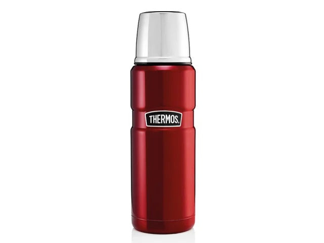 Thermos King Flask Stainless Steel Red 470ml 184804