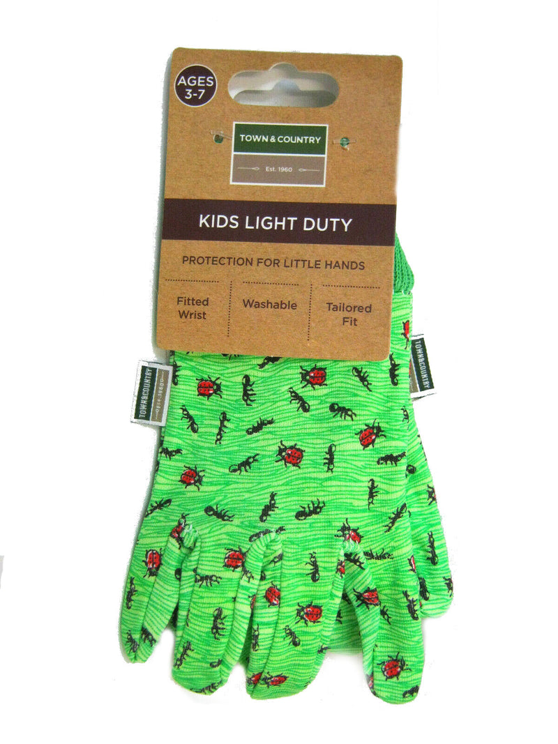 Town And Country TGL301B Small Kids Ladybird Gloves Age 3-7