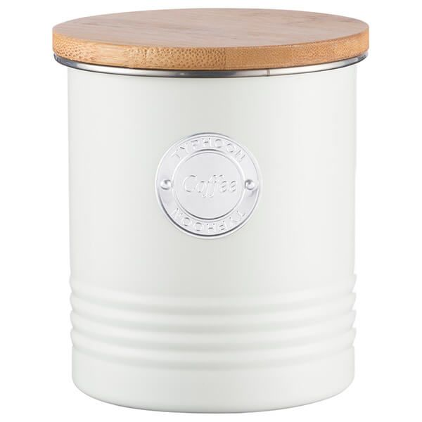 Typhoon Living Cream Coffee Storage Canister