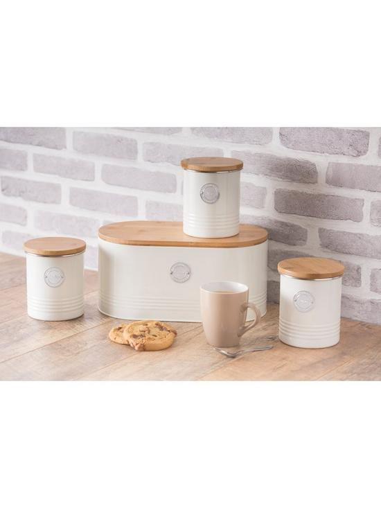 Typhoon Living Cream Sugar Storage Canister