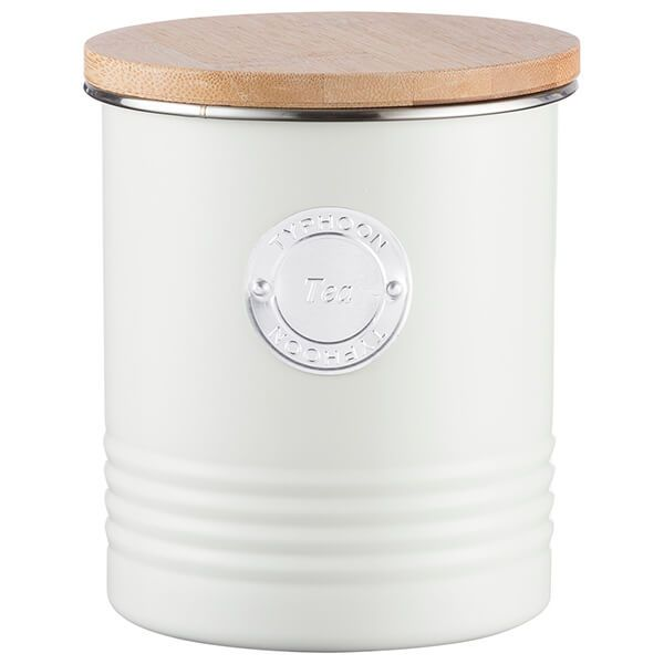 Typhoon Living Cream Tea Storage Canister