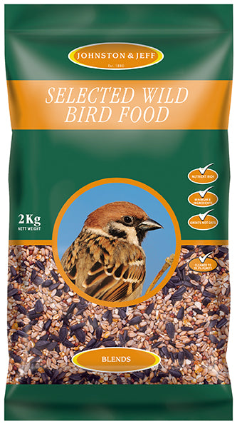 Johnsons and Jeff W12 Selected Wild Bird Food 12.75 KG