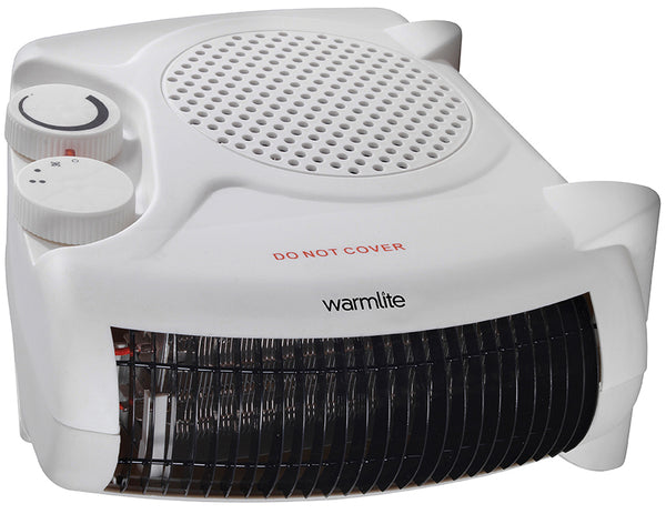 Warmlite WL44001 2KW Flat / Upright Fan Heater
