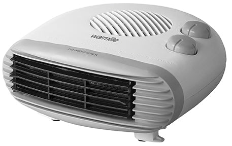 Warmlite WL44004 2KW Flat Fan Heater