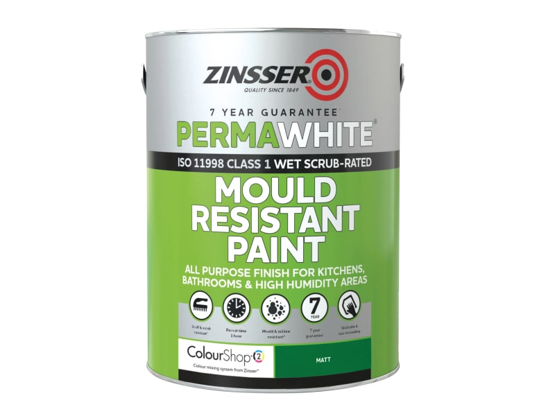 Zinsser Perma-White® Mould Resistant Matt Paint 1 Litre