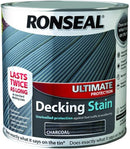 Ronseal Ultimate Decking Stain Charcoal 2.5 Litres