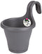 Elho Corsica Easy Hanging Fence Pot Anthracite