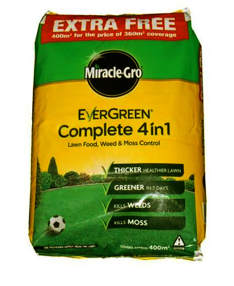 Miracle Gro Evergreen 4-In-1 14Kg 400m2