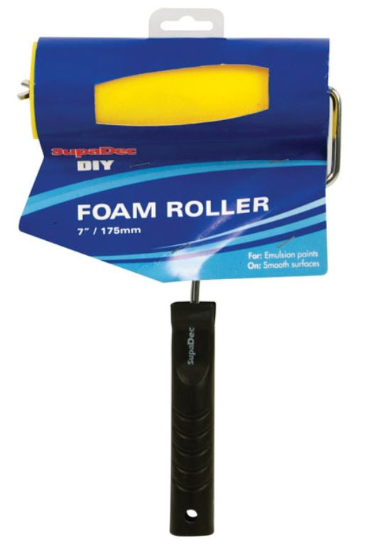 "SupaDec Foam Roller 7""/175 mm"