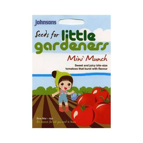 Johnsons Little Gardeners Mini Munch Toms - Tomato Minibel